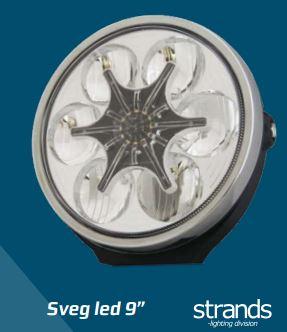 """Sveg led 9"""", Strands-light division"""