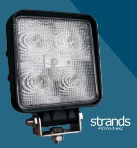 Led-työvalo 15 W, Strands-light division