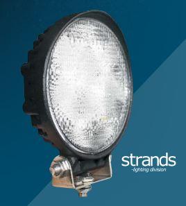 Led-työvalo 18 W, Strands-light division