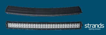 Kaareva led-valoramppi 180 W, Strands-light division