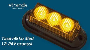 Tasovilkku 3led, Strands-light division
