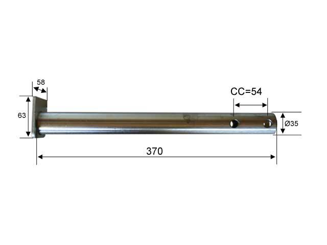 Vetoputki Al-Ko 35 mm