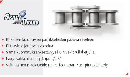 """ASA-100 11/4"""" LIITIN SEAL GUARD 100-SG CL SOKKA"""