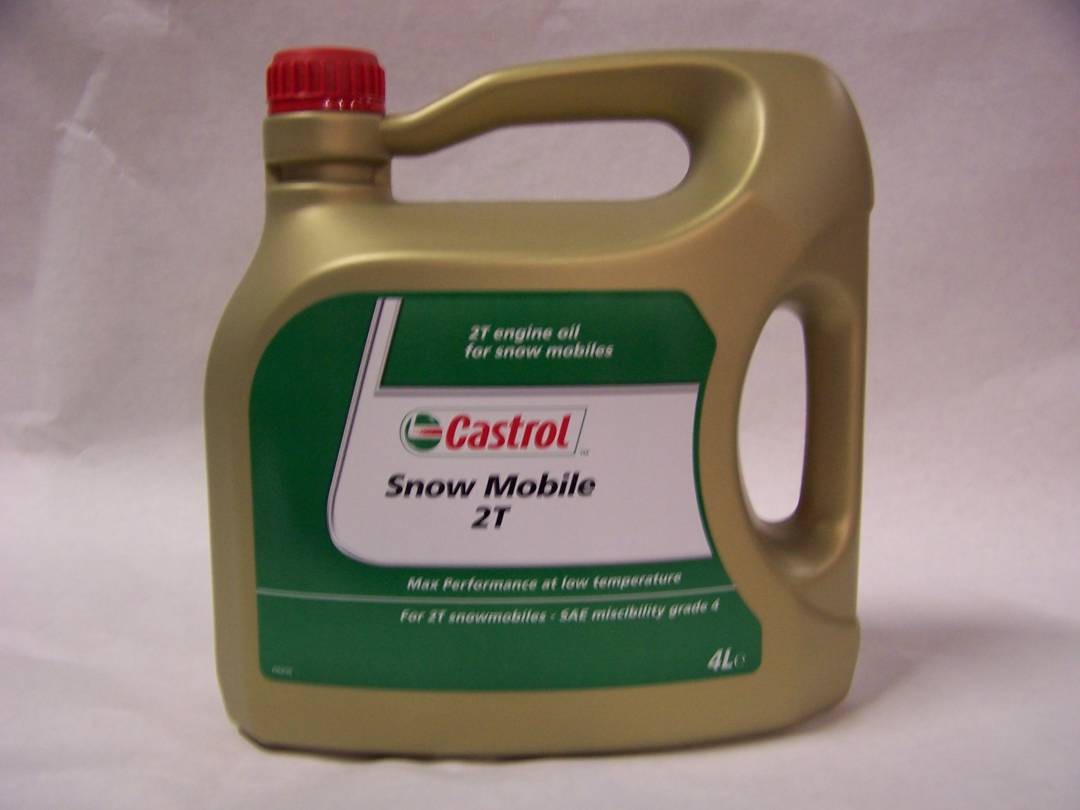 CASTROL SNOW RACE 2T 4L.