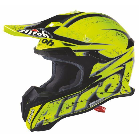 AIROH Terminator 2.1 Splash yellow gloss KOKO XL