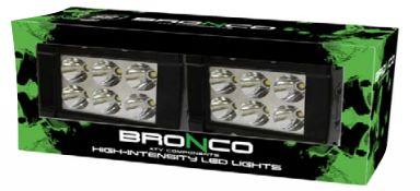 Led-työvalopari, Bronco