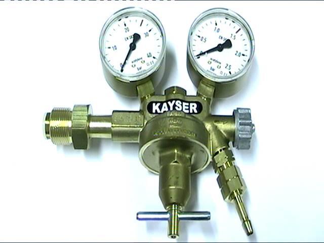 Kayser-paineenalennin asetyleeni