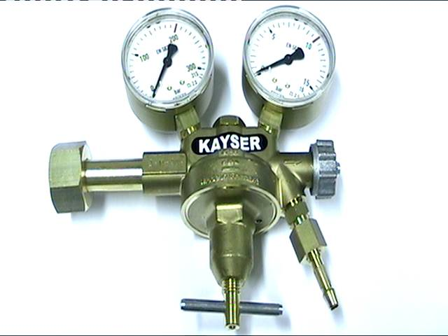 Kayser-paineenalennin typpi