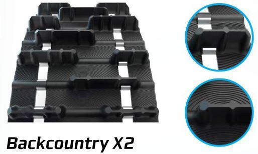 Camoplast telamatto Backcountry X2 38x327 2,86 51mm