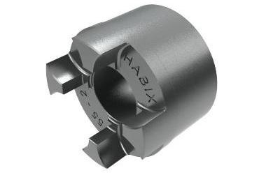HWN 55 T2 Alumiini Akselikytkin