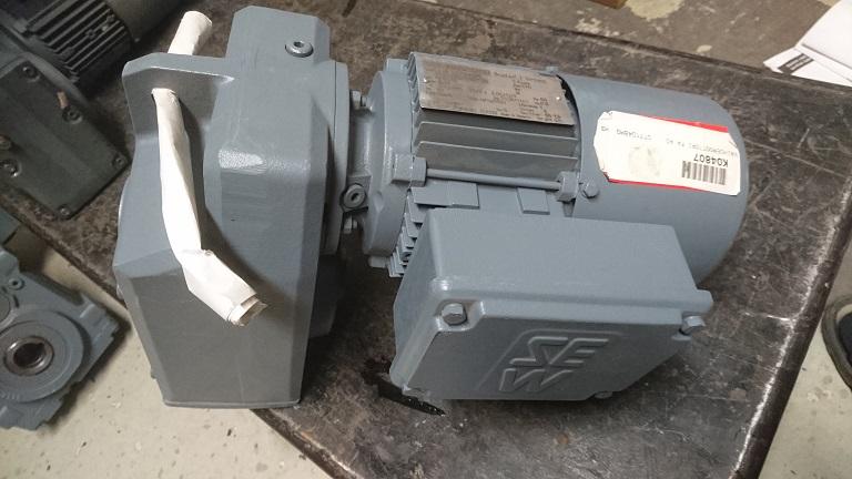 SEWjarruvaihdemoottori FA40DT71D4/BM 0,37kW /13rpm