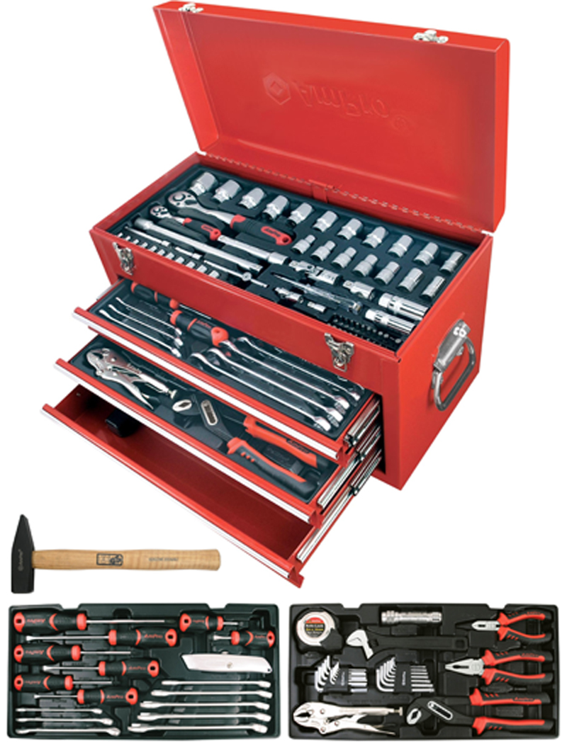 Työkalupakki Työkaluilla Ampro