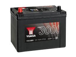 YBX3031 12V 70Ah 570A Yuasa SMF AKKU